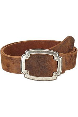 MGM Cool Jeans, 6356 Belt, -Braun (Hellbraun geflammt 176-3)