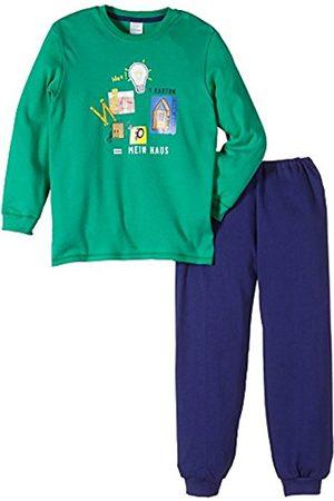 Boys Bathrobes - Schiesser Boys pajamas set boy suit long toddler with Motif - - - 8 Years