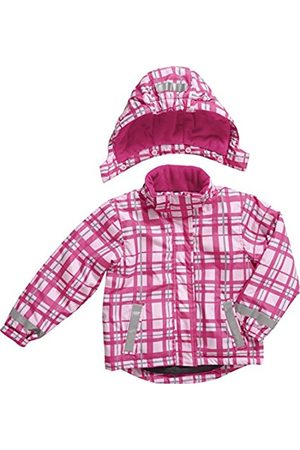 Girls Ski Suits - Playshoes Girls Waterproof and Breathable Snow Ski Snowboarding Squared Jacket