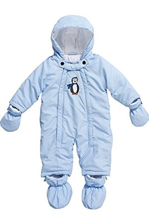 Boys Ski Suits - Playshoes Baby Boys 0-24M Fleece Lined Overall Penguin Snowsuit