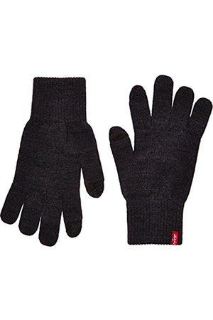 Men Gloves - Levi's Men's Ben Touch Screen Gloves Gloves (Dark)