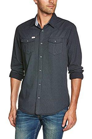 Men Long sleeves - Petrol Industries Men's Coupe cintrée Long sleeve Casual Shirt - - Small