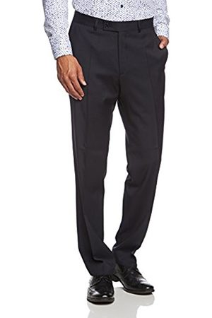 Men Trousers - Daniel Hechter Men's Hose Baukasten 5642 7951 Tapered Suit Trousers