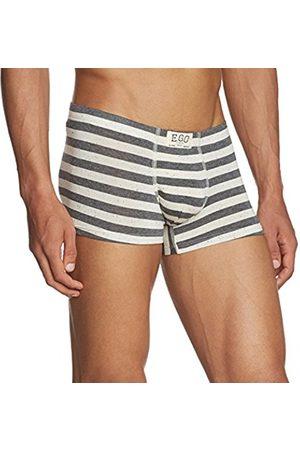 Men Boxer Shorts - Hom Men's Paint Comfort Boxer Briefs Striped Boxer Shorts
