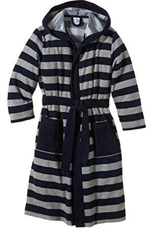 Boys Bathrobes - Schiesser Bademantel, Boy's, (nachtblau 804)