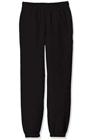 Boys Trousers - Fruit Of The Loom Boy's SS114B Sports Trousers
