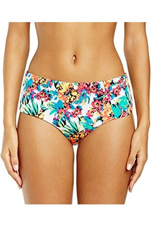 Women Bikinis - Gossard Women's Hot Tropic Shorts Floral Bikini Bottoms