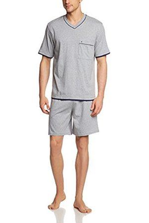 Men Pyjamas - Seidensticker Men's Short Sleeve Pyjama Set - - Small
