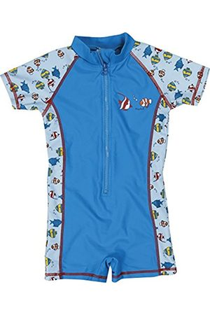 Bodysuits & All-In-Ones - Playshoes Boy's UV Sun Protection All-in-One Fish Swim Shorts
