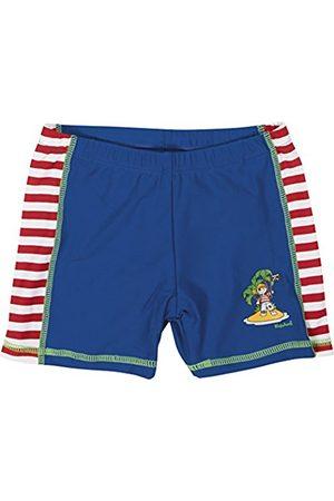 Boys Swim Shorts - Playshoes Boy's UV Sun Protection Swimming Pirate Island Swim Shorts