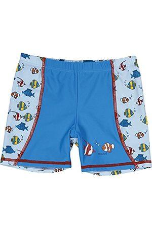 Boys Swim Shorts - Playshoes Boy's UV Sun Protection Fish Swim Shorts