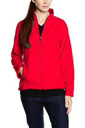Women Fleece Jackets - Trigema Women's Damen Fleece Jacke Maternity Jacket - - 12 (Manufacturer size: M)