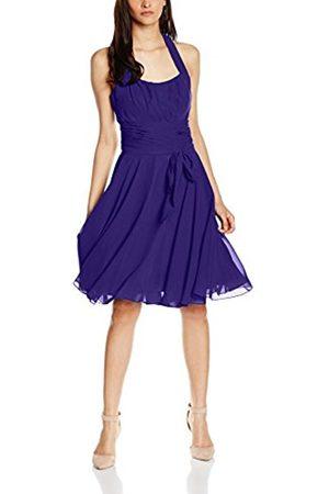 Women Party & Evening Dresses - Women's Co8002ap Knee-Length Plain Cocktail Sleeveless Dress,