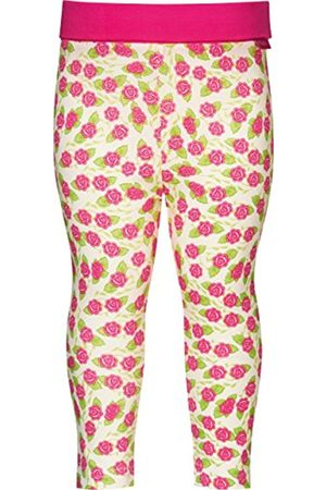 Leggings & Treggings - Playshoes Baby-Girls with Comfort Top Flower Leggings