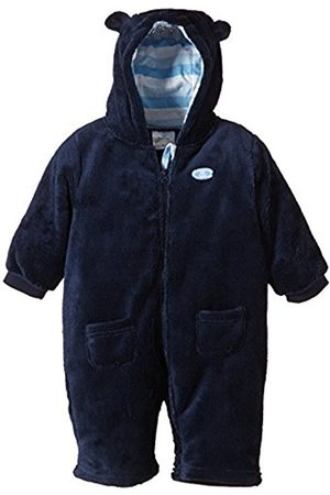 Boys Ski Suits - Twins Baby Boys Hooded Fleece Snowsuit