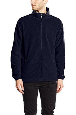 Men Fleece Jackets - Trigema Men's Jacket Blau (navy 046) XXXXX-Large