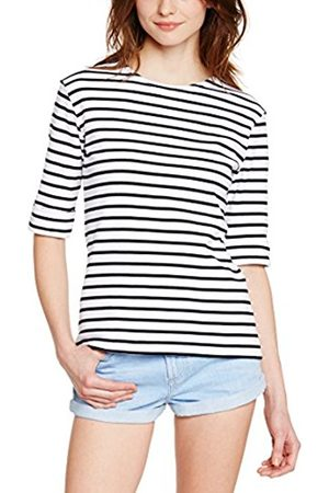 Women T-shirts - Armor.lux Women's 5409 Striped 3/4 Sleeve T-Shirt