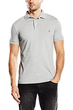 Men Polo Shirts - French Connection Men's FC Basic Sneezy Plain Short Sleeve Polo Shirt