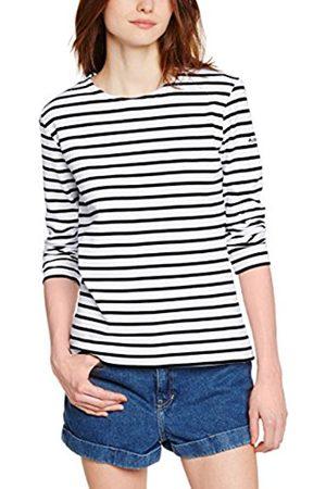 Women Long Sleeve - Armor.lux Women's 04277 Fashion Striped Long Sleeve T-Shirt - - UK UK 11.5