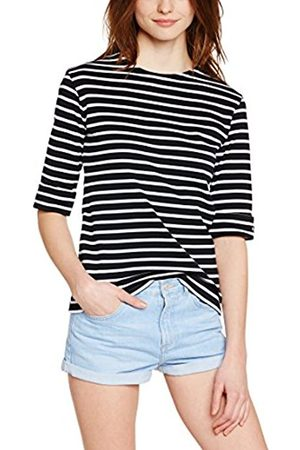 Women T-shirts - Armor.lux Women's 5409 Striped 3/4 Sleeve T-Shirt