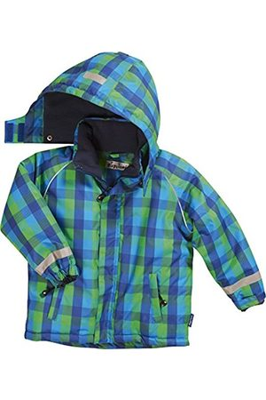 Boys Ski Suits - Playshoes Boy's Waterproof and Breathable, Ski and Snowboarding Squared /Green Jacket