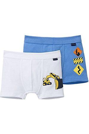 Boys Boxer Shorts - Schiesser Boy's Boxer Shorts - Multicoloured - 6-7 Years (Manufacturer Size:128