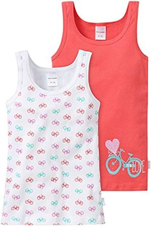 Girls Vests & T-shirts - Schiesser Girl's Vest - Multicoloured - 3 Years