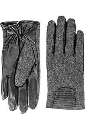 Berydale Women's Leather Gloves in Leather/Wool Blend