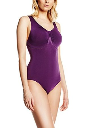 Women Swimwear - Belly cloud Women's Model-up Badeanzug Swimming Costume, -Violett (Violett 838)
