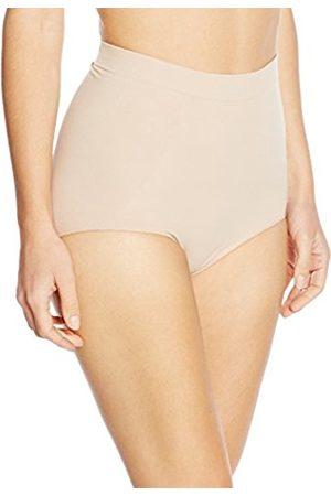 Women Slips & Underskirts - Women's Braguita Alta Compresiva Efecto 3/d Con Tecnología Biotech_ Sleeveless Shaping Half Slip - - UK 16