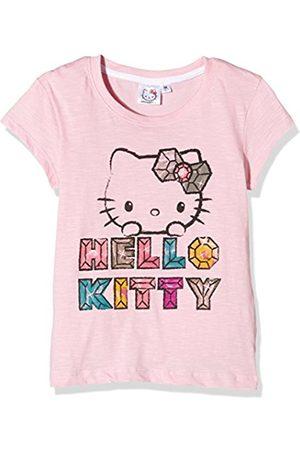 Hello Kitty Girl's Fabulous Plain Short Sleeve Crew Neck T-Shirt