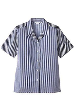 Girls Short Sleeve - Girl's 2PK Rever Striped Short Sleeve Non-Iron Blouse