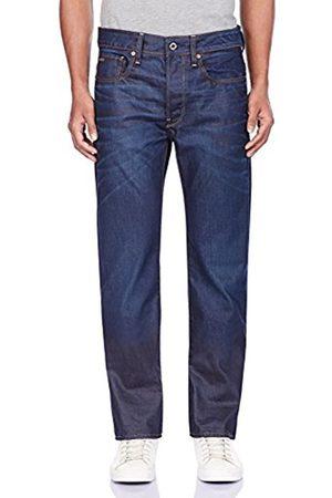 Men Straight - G-Star Men's 3301 4639 Straight Jeans, (Dark Aged)