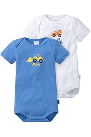 Rompers - Schiesser Baby Boys 2pack Baby Bodies 1/2 Bodysuit
