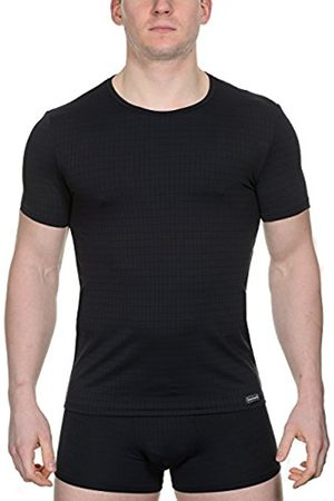 Men Vests & T-shirts - Bruno Banani Men's Vest Schwarz (schwarz karo 125) X-Large