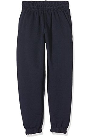 Boys Trousers - Fruit Of The Loom Boy's SS031B Sports Trousers