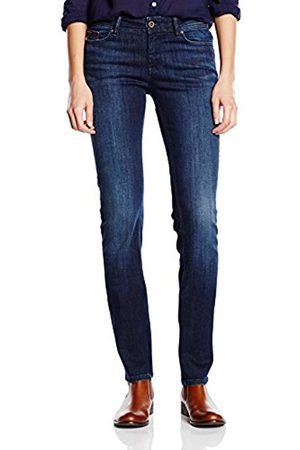 Women Straight - Tommy Hilfiger Women's Mid Rise Sandy Straight Jeans