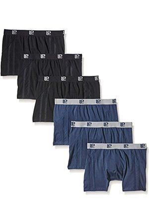 Men Boxer Shorts - Men's Retro Boxer Shorts, Pack of 6, Navy/