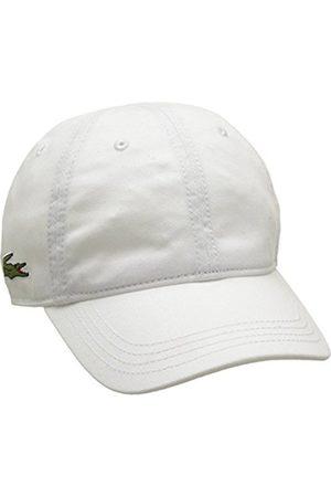Men Hats - Lacoste Men's Baseball Cap Rk3106 (Blanc)