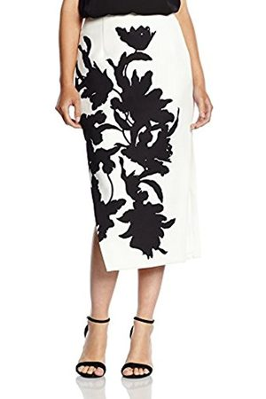 Women Pencil Skirts - C/meo Collective Women's Real Game Pencil Floral Skirt