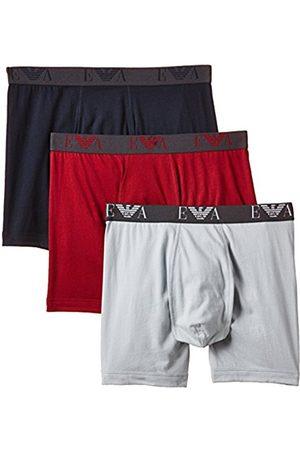 Men Boxer Shorts - Armani Intimates Men's 5A712 110869 3 Pack Boxer Shorts