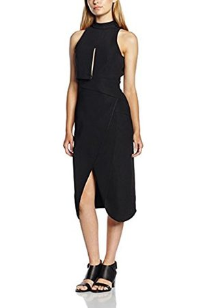 Women Dresses - C/meo Collective Women's Fall Back Wrap Short Sleeve Dress