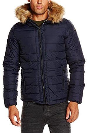 Men Jackets - Schott NYC Men's Rocky2 Quilted Long Sleeve Jacket