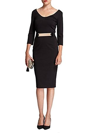 Women Pencil Dresses - Morgan Women's Pencil Plain or unicolor 3/4 Sleeve Dress - - 16