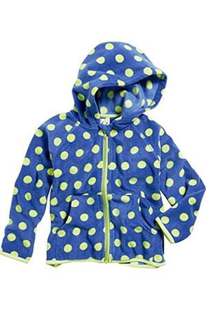 Boys Fleece Jackets - Playshoes Boy's Kids Full Zip Long Sleeve Dots Fleece Jacket