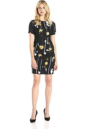 Women Printed Dresses - Women's WTRCLR RS CLRBLD PRT STH A-Line Floral Short Sleeve Dress