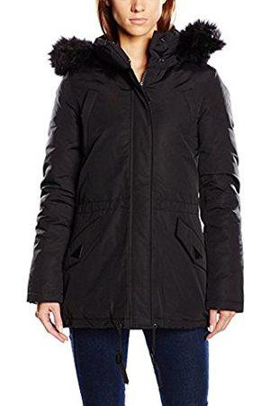 Women Coats - Schott NYC Women's JKTFREYA2W Trench Hooded Long Sleeve Jacket
