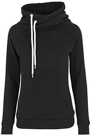 Women Jumpers & Sweaters - Urban classics Women's Pullover Raglan High Neck Hoody - Jumper