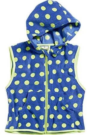 Boys Fleece Jackets - Playshoes Boy's Kids Sleeveless Full Zip Fleece Vest Dots Gilet