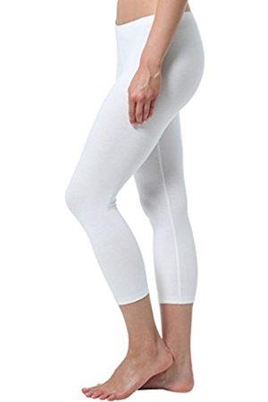 Women Leggings & Treggings - Women's Capri Leggings, matte, 100 DEN